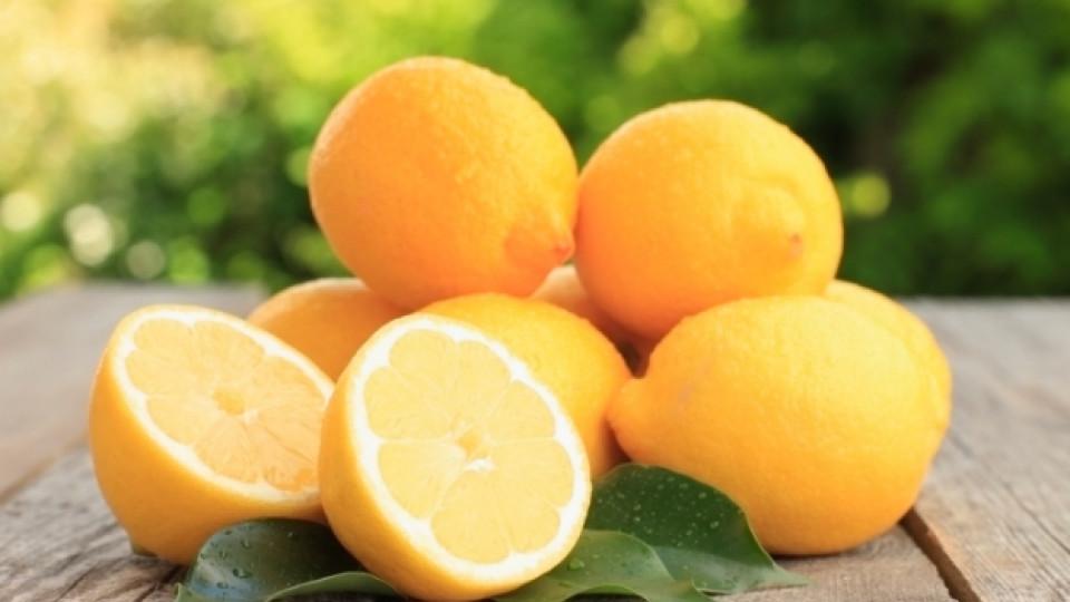 Лимони срещу стареенето на кожата