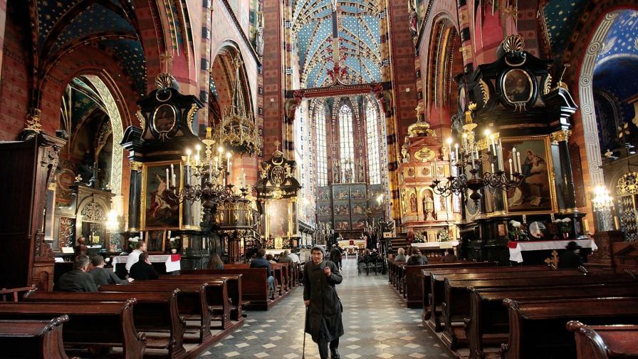 Мариацката катедрала, Краков