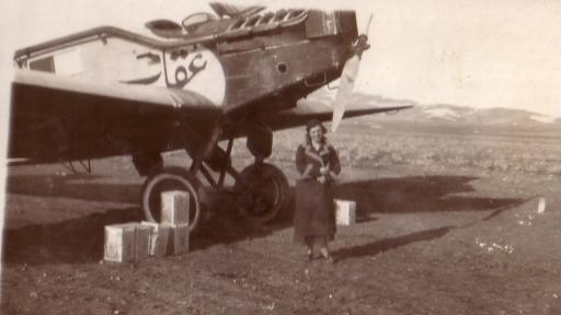 Анна Ламбрева Пиперкова преди да отпътува за Багдад.