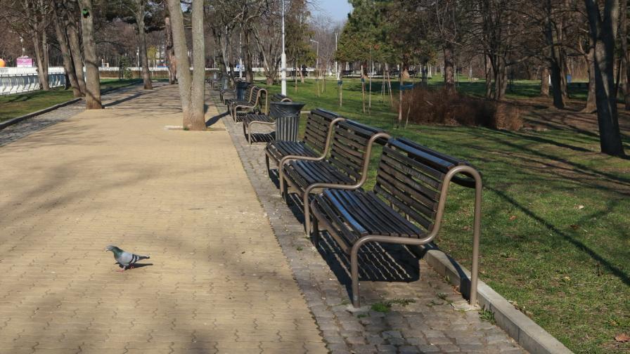 От днес: Забраняват се разходки в паркове и градини