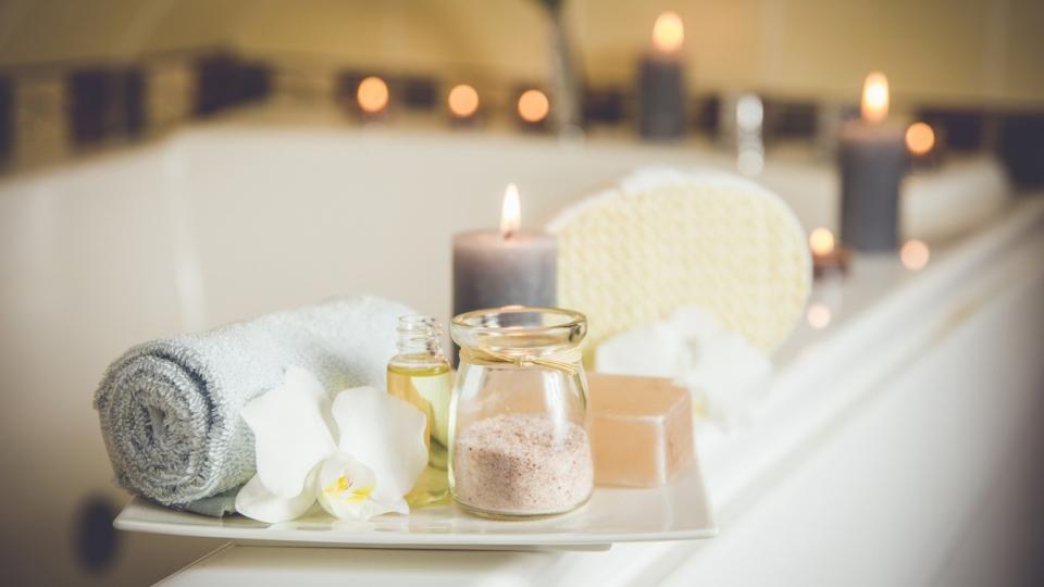 спа вана релакс свещи