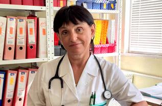 Д-р Стела Янкова, общопрактикуващ лекар, ДКЦ 2, Бургас