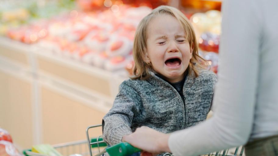 Как да се справяме с избухванията на детето?