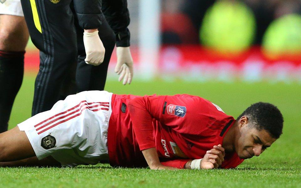 Нападателят на Манчестър Юнайтед сподели, че се чувства много по-добре