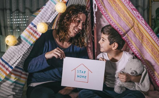 Уроци за изолацията от едно италианско семейство