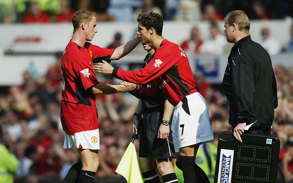 Кристиано Роналдо е избрал Манчестър Юнайтед през 2003 година, защото