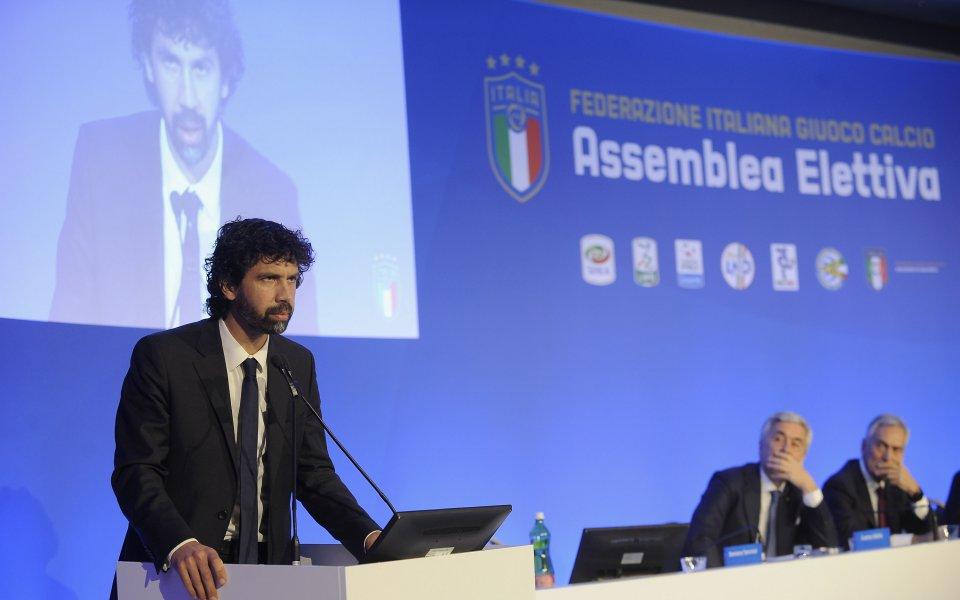 Президентът на Италианската асоциация на професионалните футболисти, Дамиано Томази, коментира