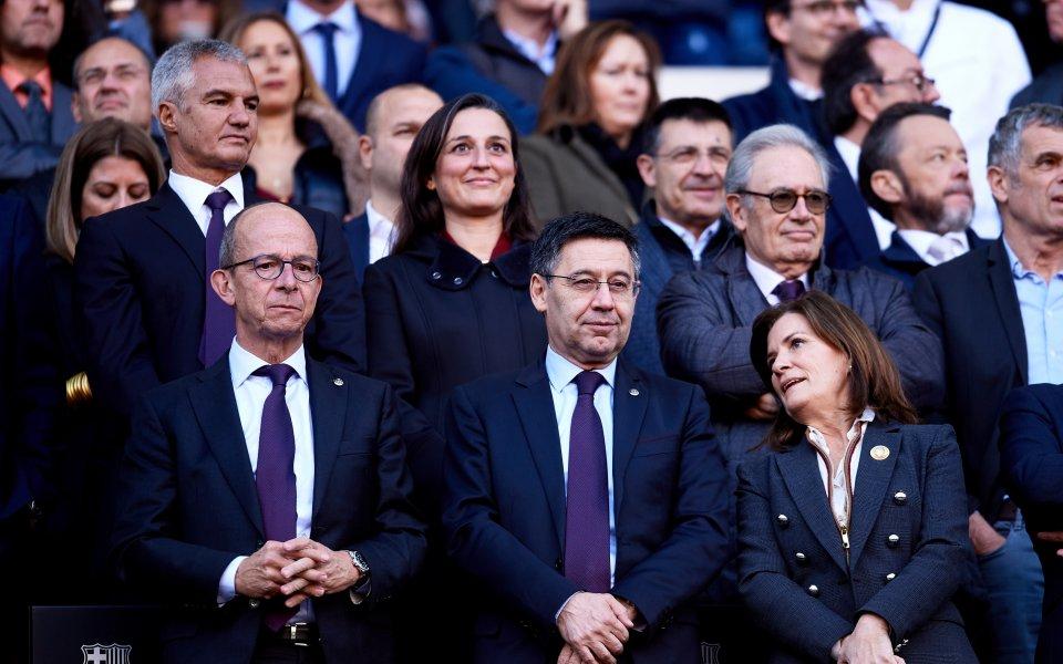 Президентът на Барселона: Меси ми каза веднага, че ще...