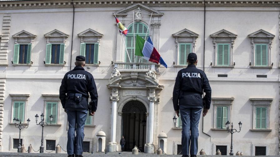 В Италия почетоха паметта на починалите от Ковид-19