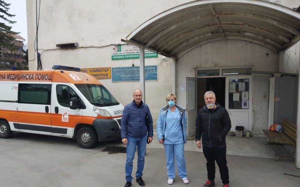 Днес ПФК Берое направи дарение на Центъра за спешна медицинска