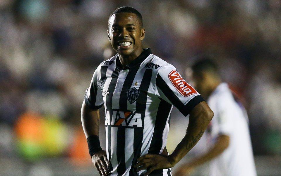 Бразилският футболист Робиньо бе считан за наследник на великите Пеле