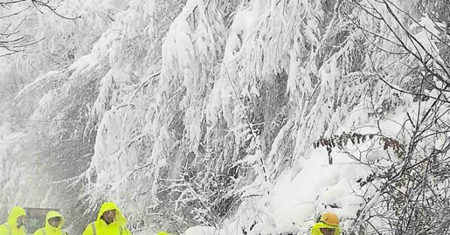 България Рудозем обяви бедствено положение Снежната покривка, натрупана през последните