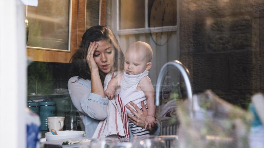 Следродилна депресия: как да получите помощ в 6 стъпки