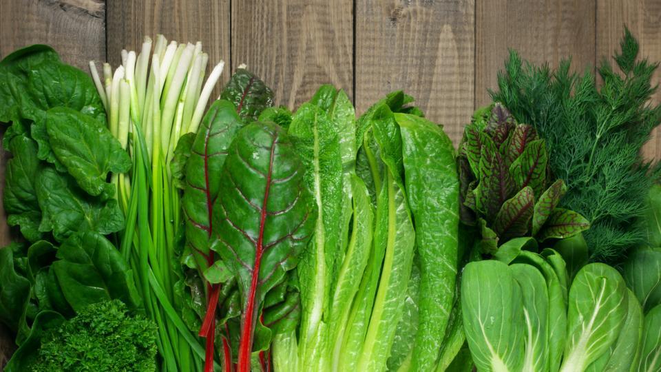 зелени зеленчуци здравословно