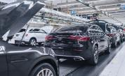 Mercedes-Benz GLC и GLC Coupe на поточната линия в Бремен.