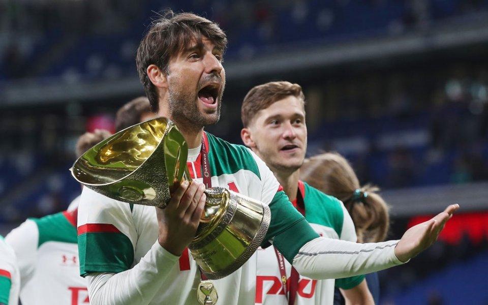 Капитанът на Локомотив Москва Ведран Чорлука коментира решението на играчите