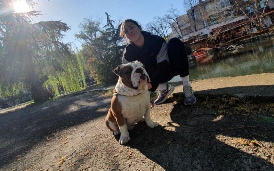 Грут - кучето на Лора Китипова