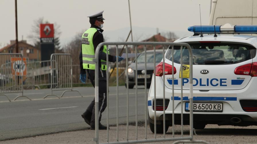 Въпреки строгите мерки - отново наплив от автомобили по изходите на София