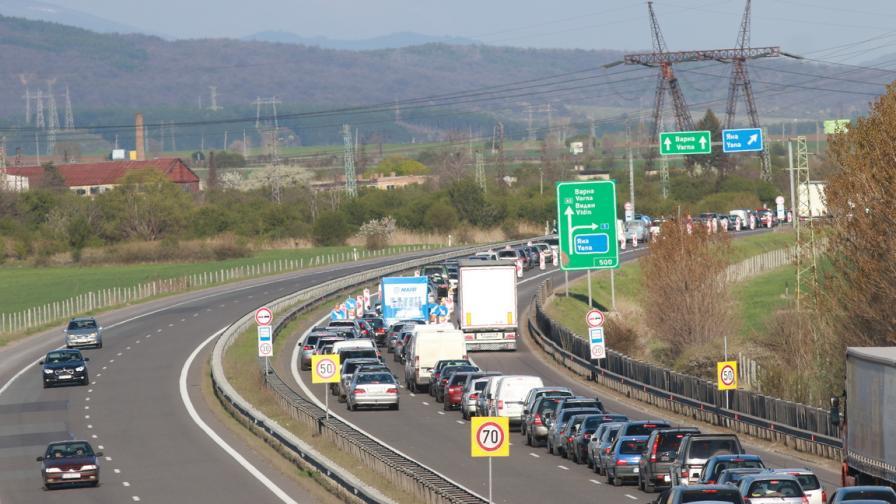 Автомагистрала Хемус, КПП