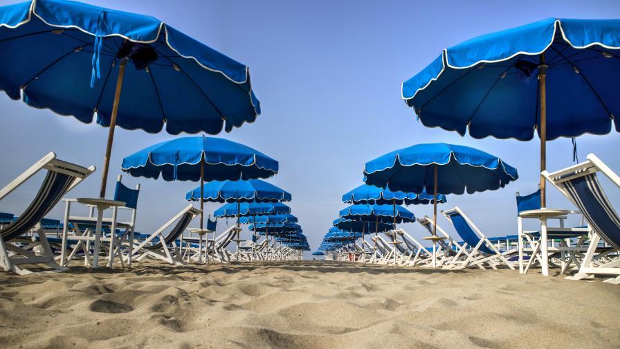 Безплатна сянка на плажа? Не съвсем