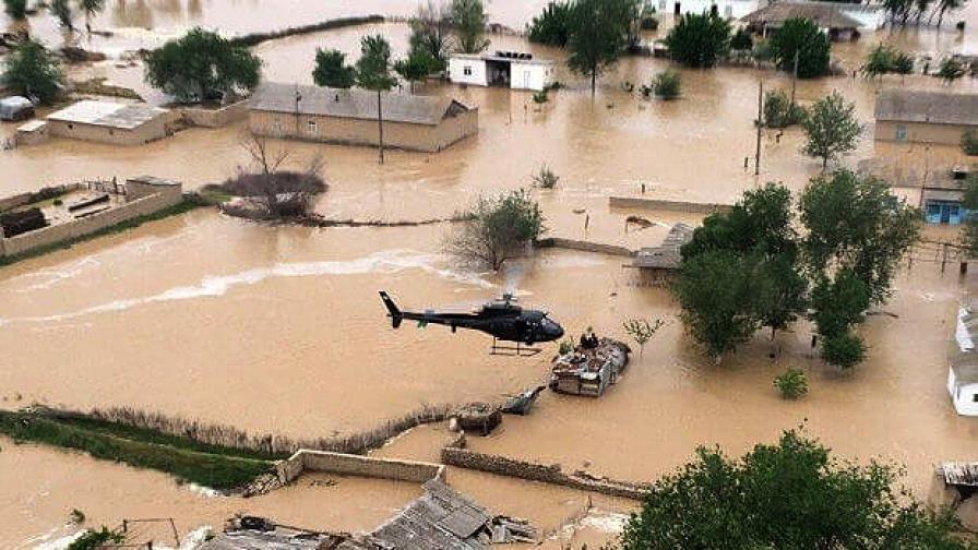 <p>Язовирна стена се скъса, хиляди домове са наводнени&nbsp;</p>