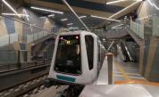 Спряха част от метрото в София