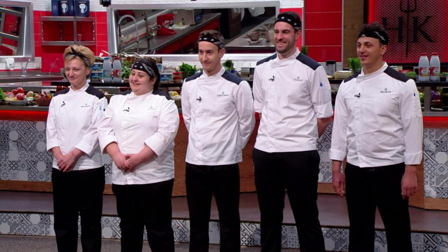 Люта схватка за надмощие в Hell's Kitchen България седмица преди финала