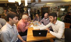 <p>Студенти хакват проблемите на България&nbsp;</p>