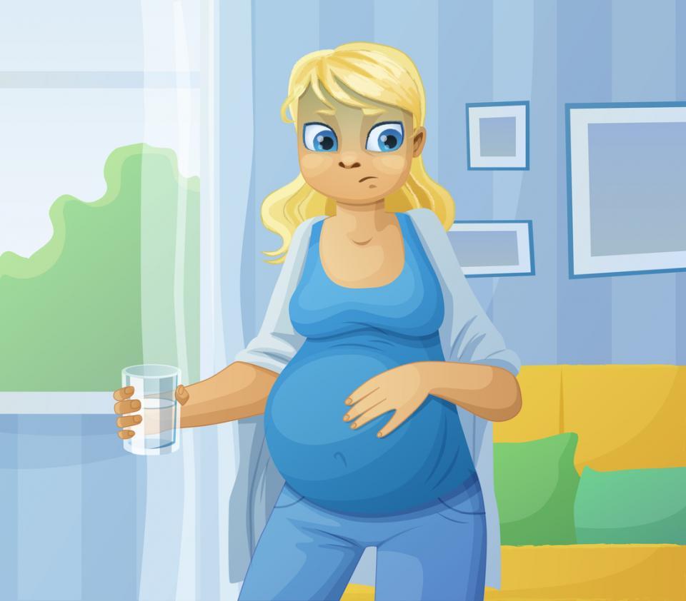 майка бременна бременност