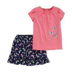 Детски комплект тениска и пола