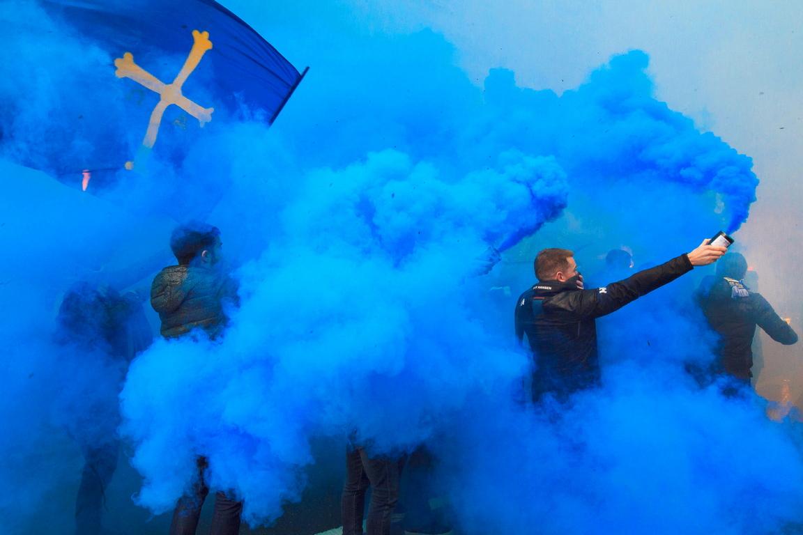 <p>Синият цвят</p>