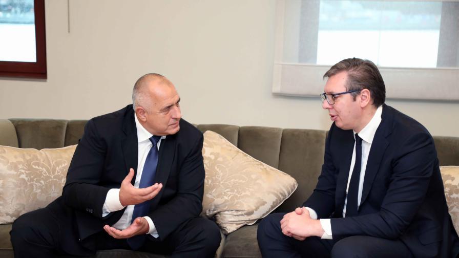 Вучич и Борисов обсъдиха регионалното сътрудничество след пандемията