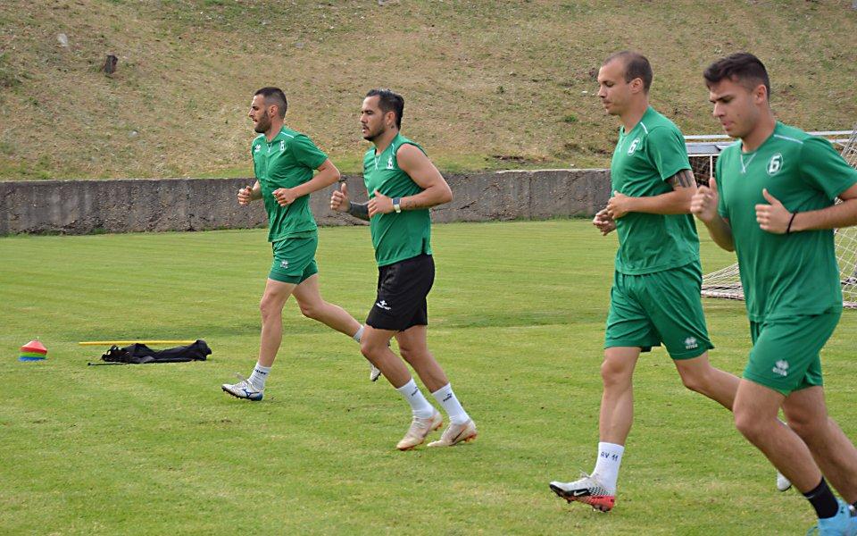 Няколко футболисти на Ботев Враца взеха участие в днешната щафета
