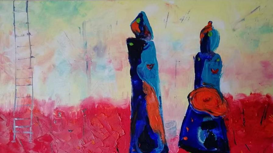 Картината на Атанас Темнилов, която впечатли света