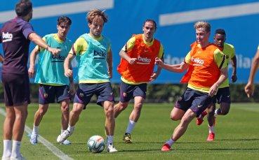 В Испания стартираха пълноценни тренировки