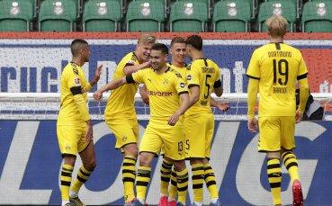 Добри новини в Дортмунд преди дербито с Байерн