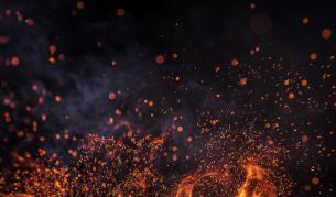 "Голям горски пожар затвори магистрала ""Марица"""