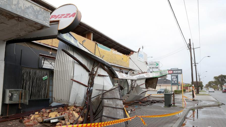 Мощна буря удари Австралия