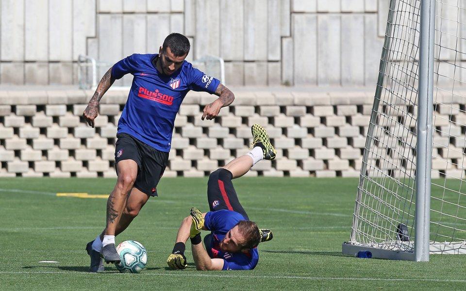 Крилото на Атлетико Мадрид Анхел Кореа заяви, че завръщането на