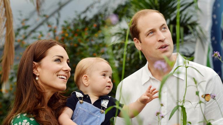принц Уилям Кейт Мидълтън деца