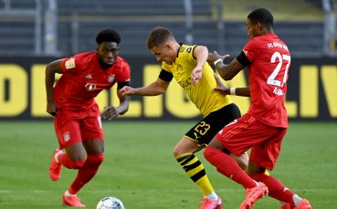 НА ЖИВО: Борусия Дортмунд - Байерн Мюнхен, шампионът води