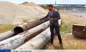 Ремонтират тръбопровода в района край Варненското езеро