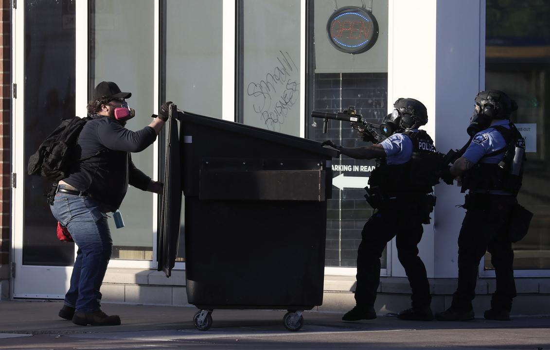 <p>Националната гвардия ще гарантира сигурността в Минесота</p>