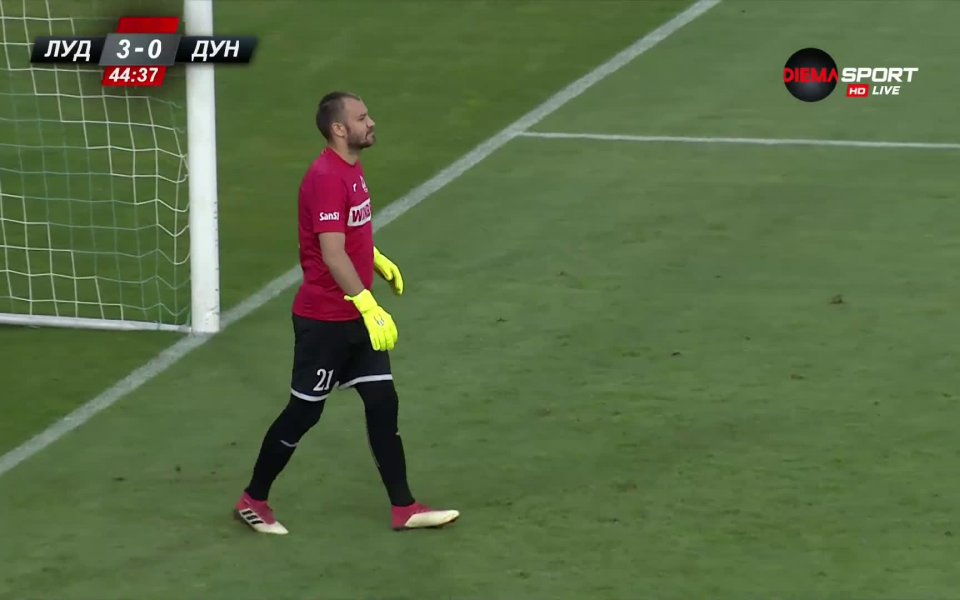 Вандерсон заби втори гол на Дунав.