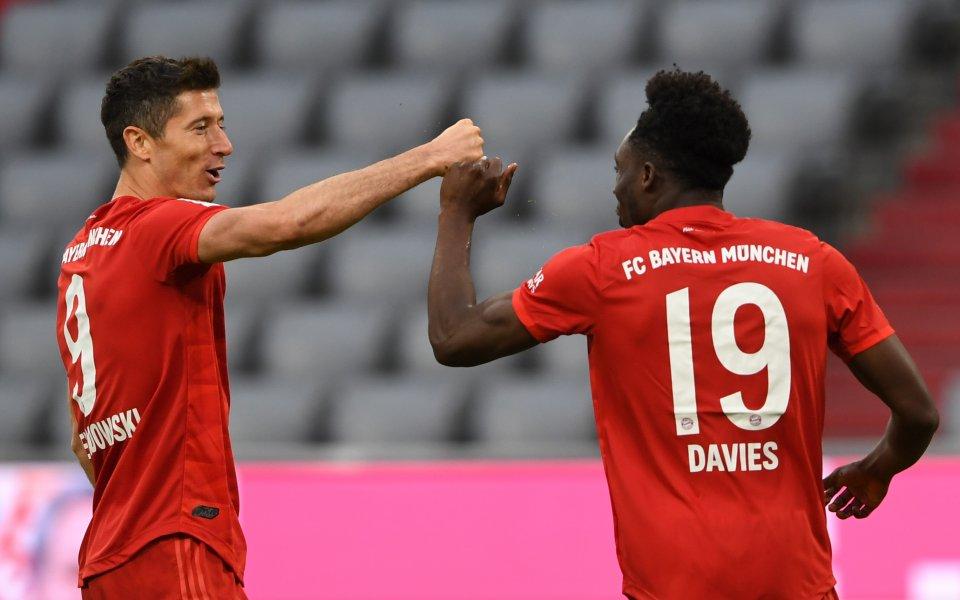 Германският шампион Байерн Мюнхен посреща Фортуна Дюселдорф в среща от