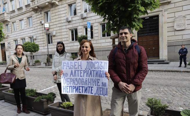 Родители на протест, настояват за ударно строителство на детски градини