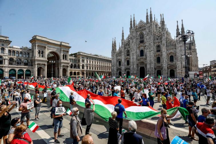 Италия отворена туристи
