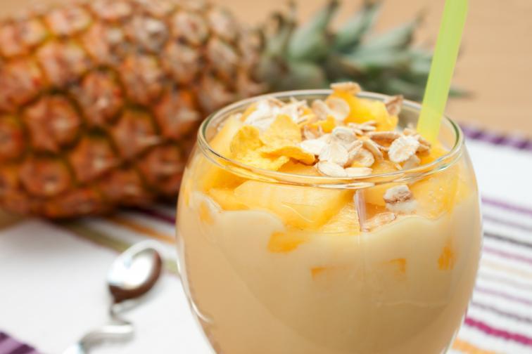 крем ананас