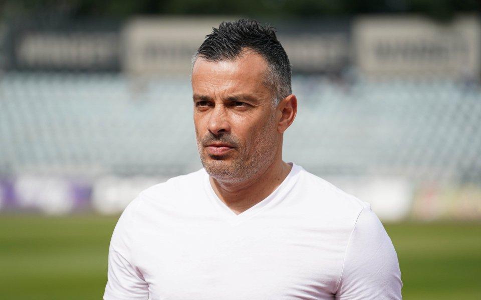 Треньорът на Дунав Людмил Киров сподели, че е доволен от