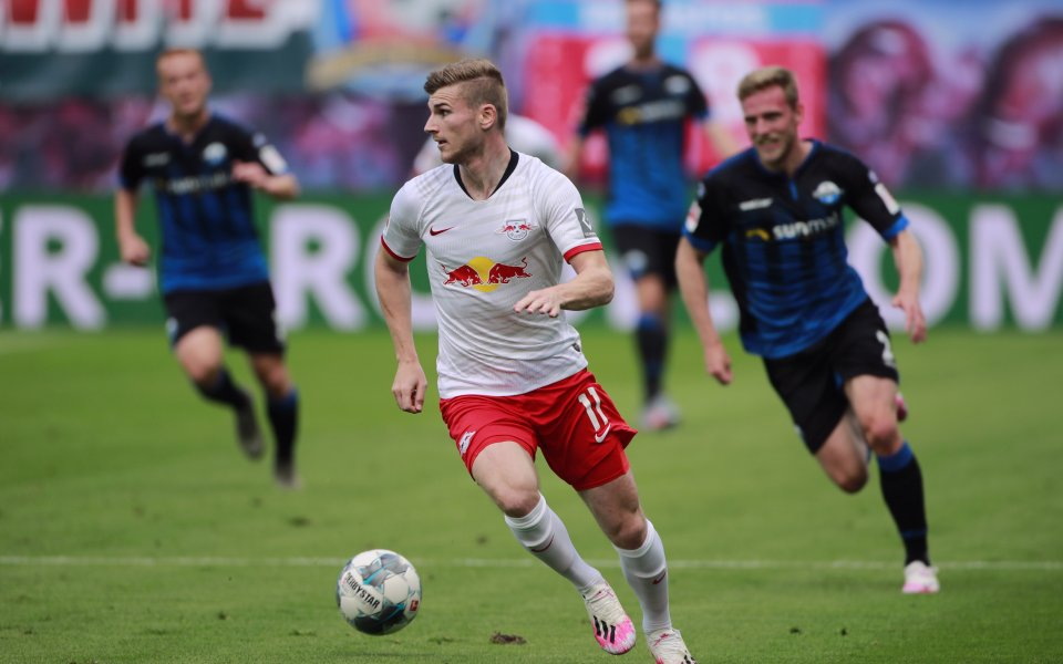 Трансферната цел на редица големи европейски отбори Тимо Вернер все
